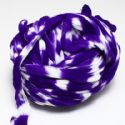 Two colours Specially dyed nylon, Nylon, Dark purple, white, Stretched size 1.5m x 15cm, 1 piece, (SWW0427)